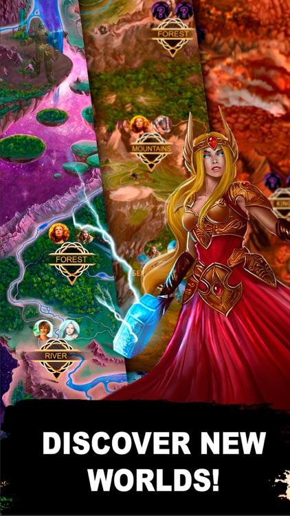 Heroes of Asgard: CCG-Arena screenshot-4
