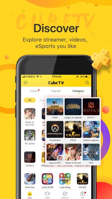 Cube TV – Live Games Community screenshot 5