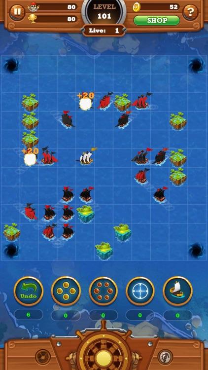 Seven Ships Battle: Pirate Sea screenshot-3