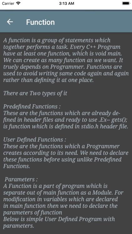 Learn basic C Plus Plus screenshot-5