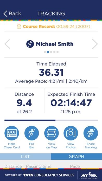 ING NYC Marathon screenshot