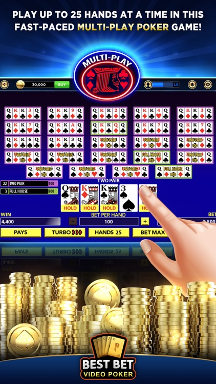 Best Bet Video Poker|50+ Games screenshot-4