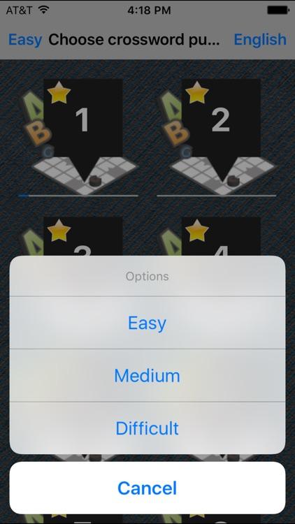 Crosswords Mobile screenshot-3