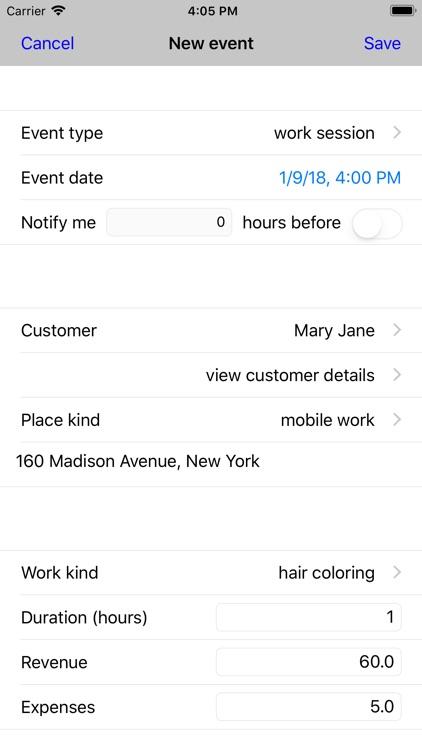 Customer Appointments screenshot-4