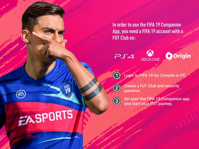 EA SPORTS™ FIFA 19 Companion on the App Store