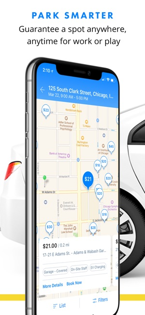 Parking Spot App >> Spothero Find Parking Nearby On The App Store