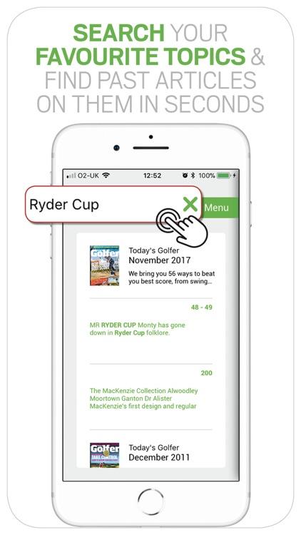 Today's Golfer: News & Stories screenshot-5