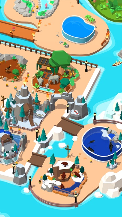 Idle Zoo Tycoon 3D screenshot 6