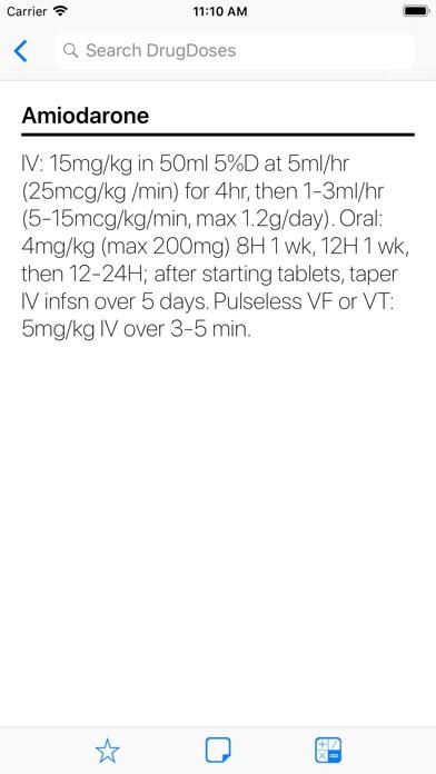 Screenshot for DrugDoses in Lebanon App Store