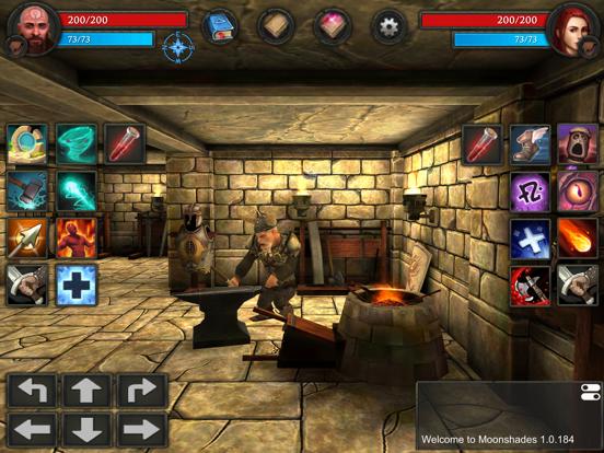 Moonshades dungeon crawler RPGのおすすめ画像3
