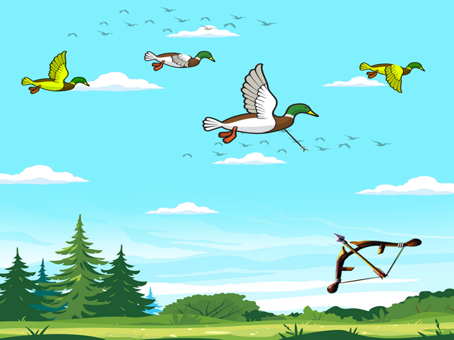 Big Archery Duck Hunting Game, game for IOS