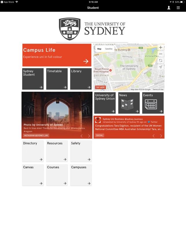 Sydney Uni on the App Store