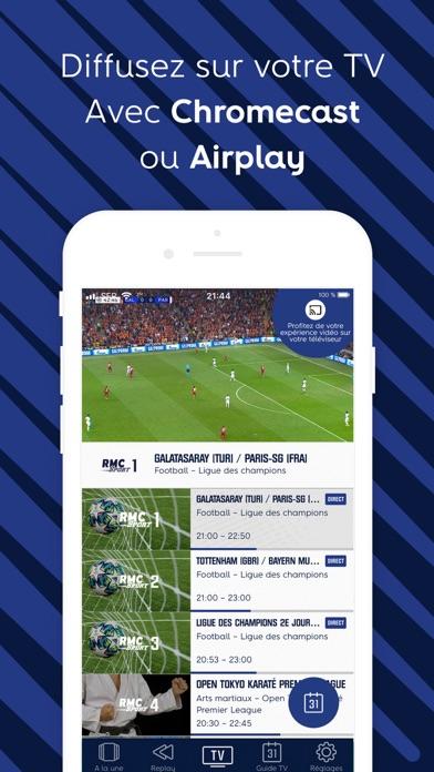 Télécharger RMC Sport – Live TV, Replay pour Pc