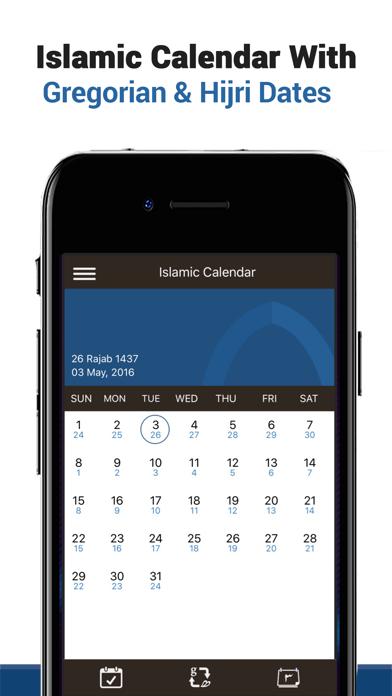 Islamic Calendar & Eventsのおすすめ画像1