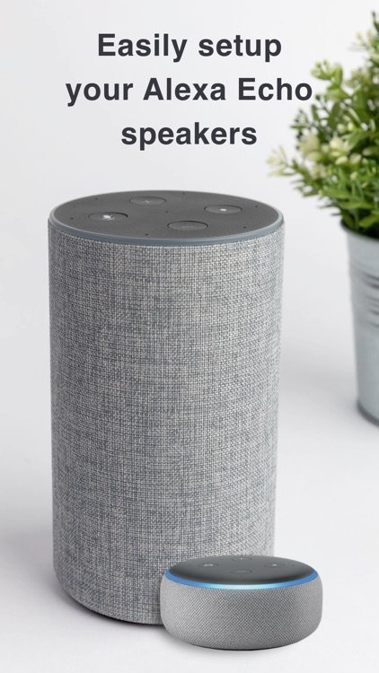 Setup for Alexa echo dot app