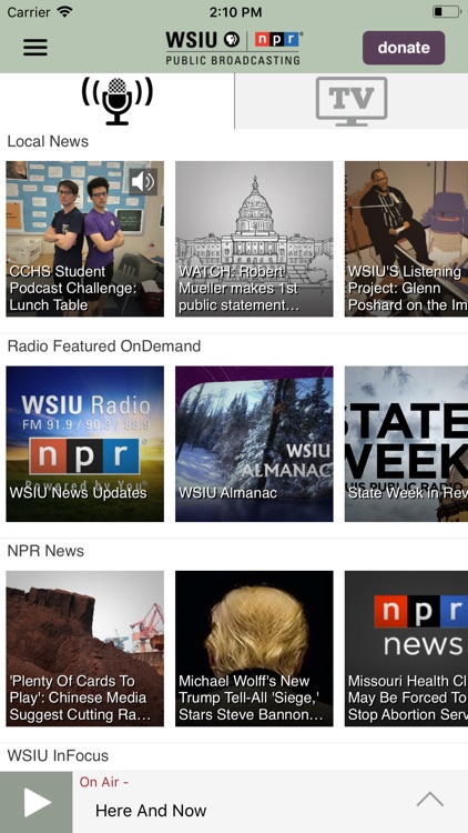 WSIU Public Media App screenshot-1