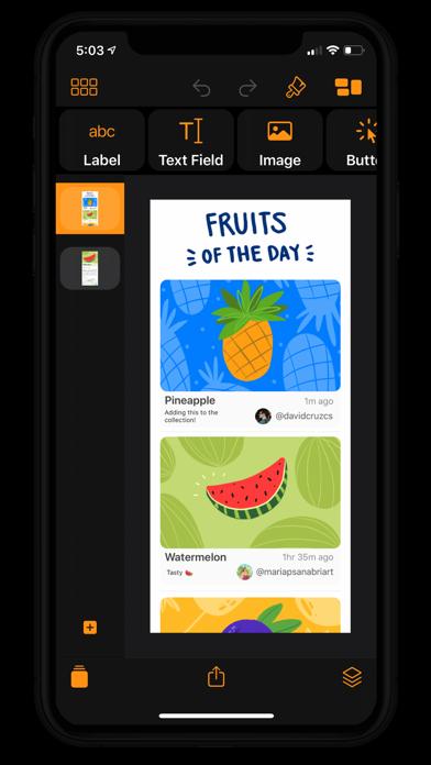 Pineapple review screenshots
