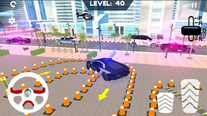 Super Police Car Parking 3D screenshot two