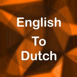 English To Dutch :)