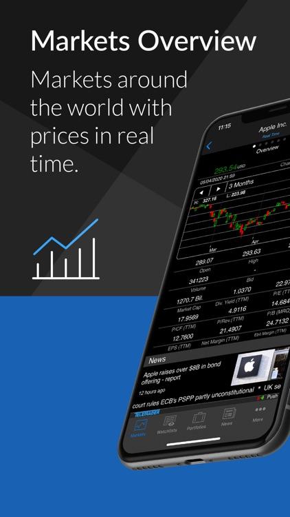 StockMarkets – investment data