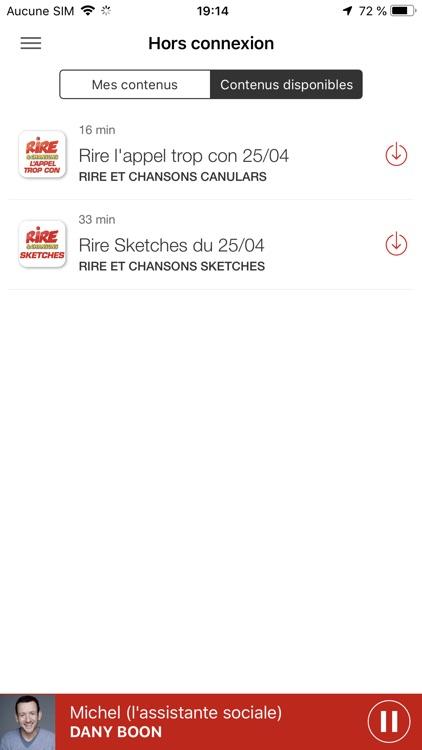 Rire et Chansons Radio screenshot-5