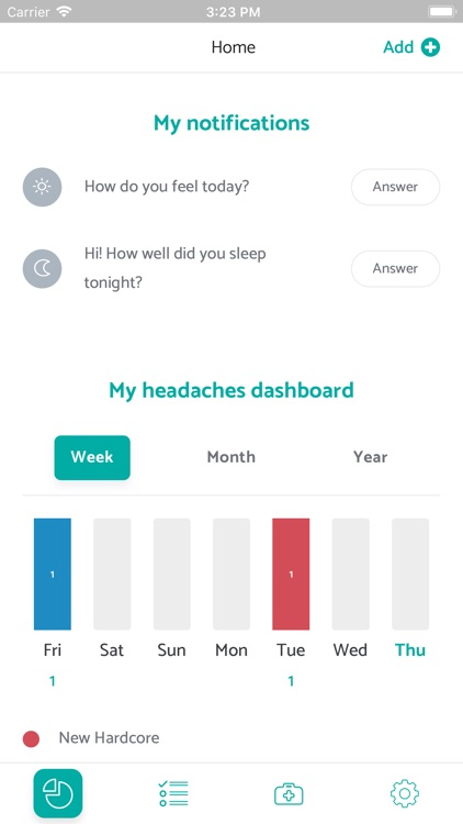 MigraineManager screenshot-3