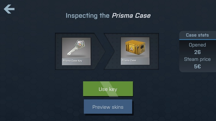 Case Opener - skins simulator