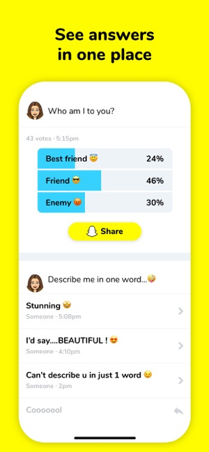 LMK: Anonymous q&a, polls on the App Store
