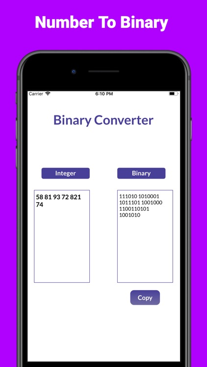 Binary Converter Calculator+ screenshot-3