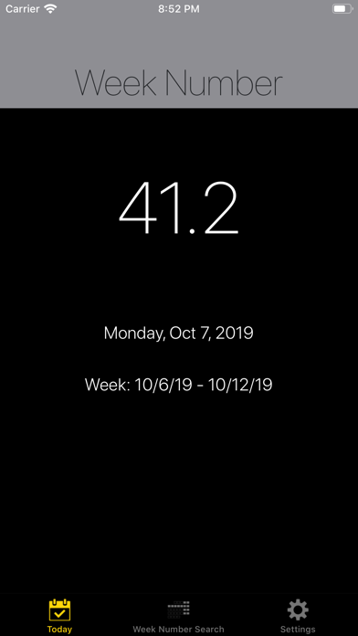 点击获取Week Number Pro