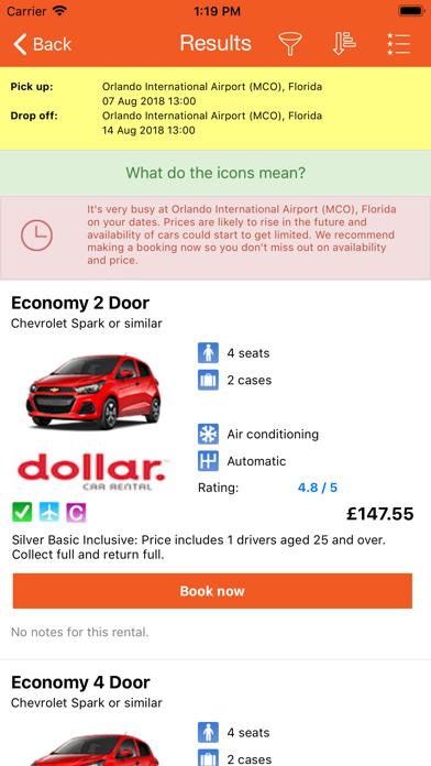 Car Rental Usa >> Us Car Hire Usa Car Rentals By Orlando Villas Ltd Ios