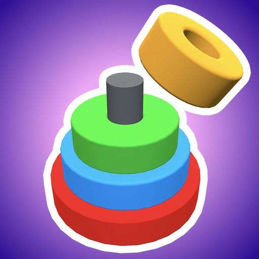 Color Circles 3D app logo