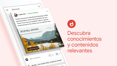 Screenshot for Google+ para G Suite in Mexico App Store