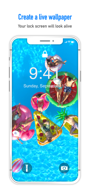 Turnlive Live Wallpaper App On The App Store