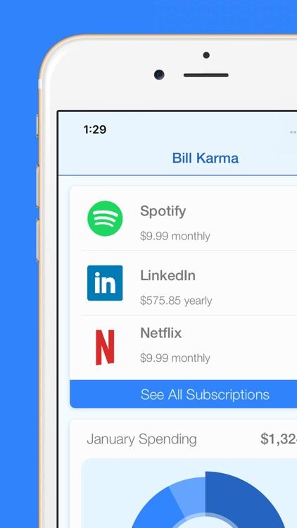 Bill Karma - Budget Planner