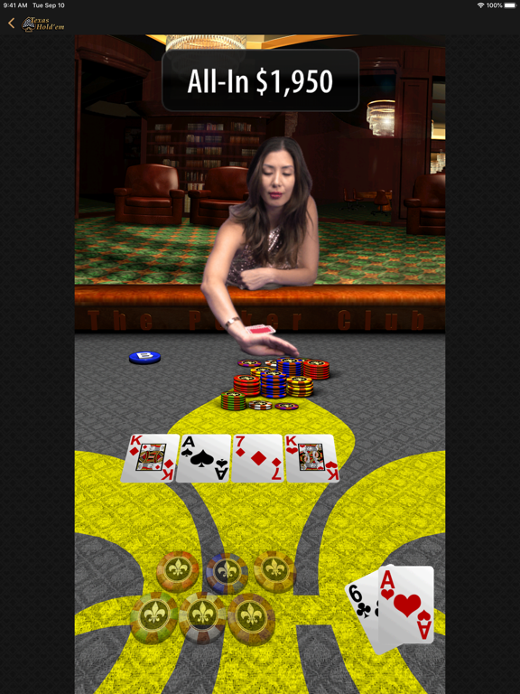 Texas Hold'em screenshot 9