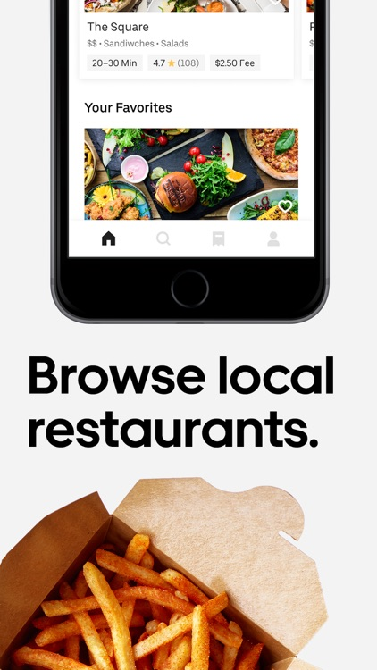 Uber Eats: Food Delivery