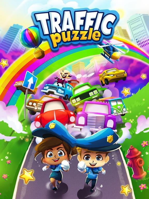iPad Image of Traffic Puzzle