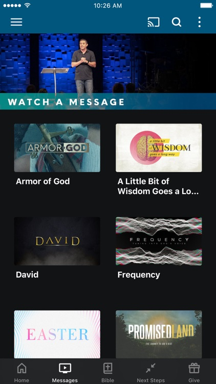 Element Church App