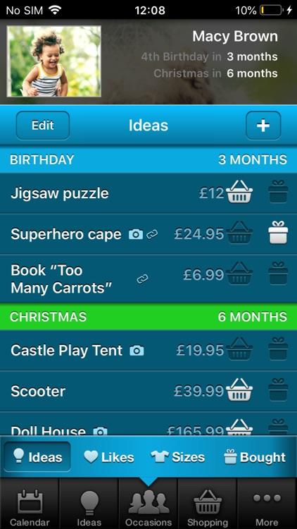 Gift Plan screenshot-5