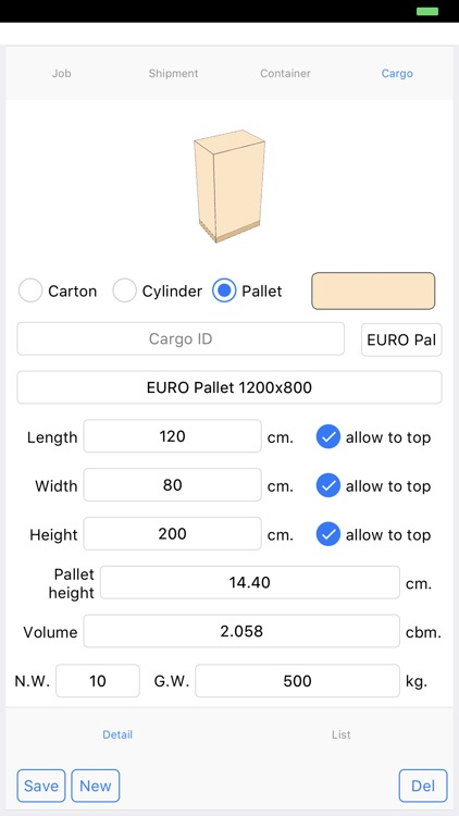 Cargo Optimizer Max 3 screenshot-9