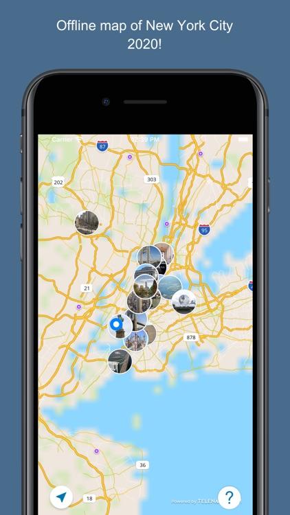 New York 2020 — offline map