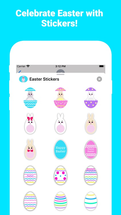Happy Easter for iMessage