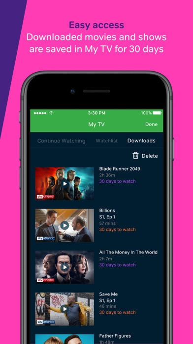 NOW TV: Movies, TV & Sports screenshot two