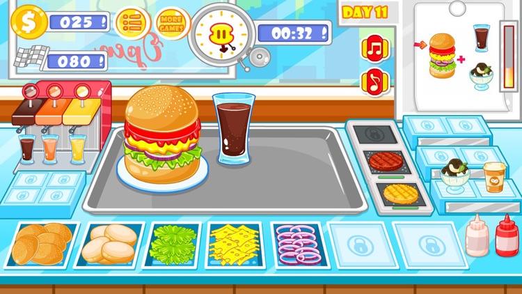 Burger shop fast food screenshot-6