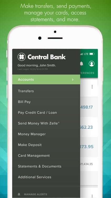 Central Bank - Mobile