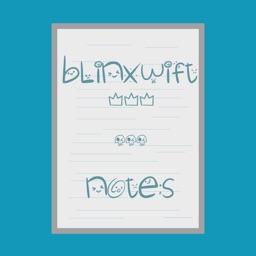 Blinxwift Notebook