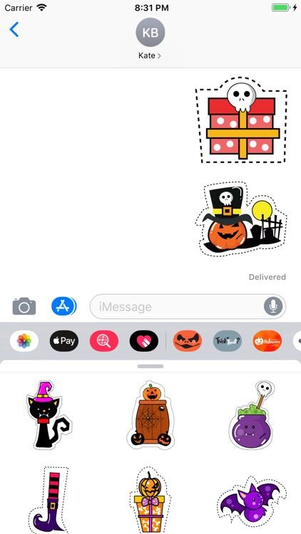 Halloween Stickers ·
