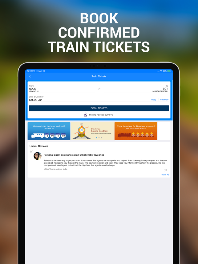 Train & PNR Status : RailYatri on the App Store