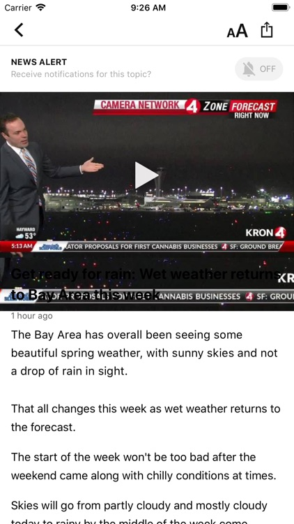 KRON4 News - San Francisco screenshot-2